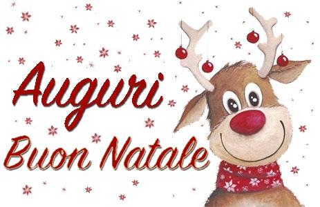 Auguri di un sereno Natale e di un felice anno nuovo.